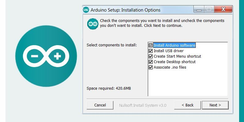 Arduino IDE Software Components