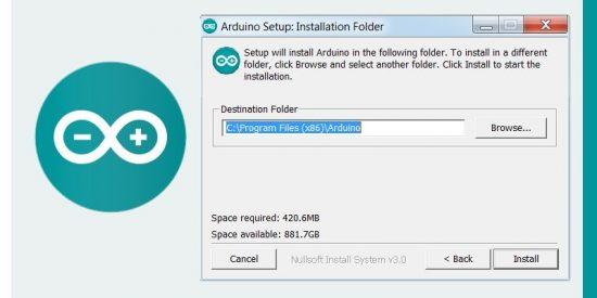 Arduino IDE Software Folder