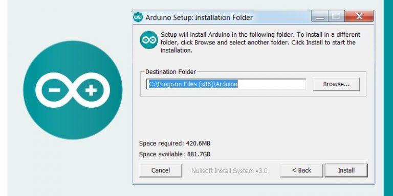Arduino IDE Software Folder