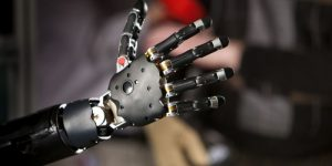 Brain Controlled Prosthetic Arm Funded by DARPA