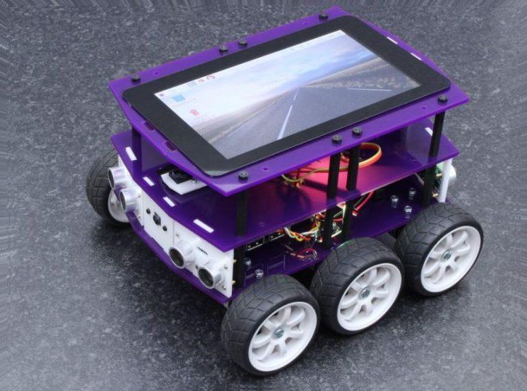 DiddyBorg V2 Autonomous Robot Kit