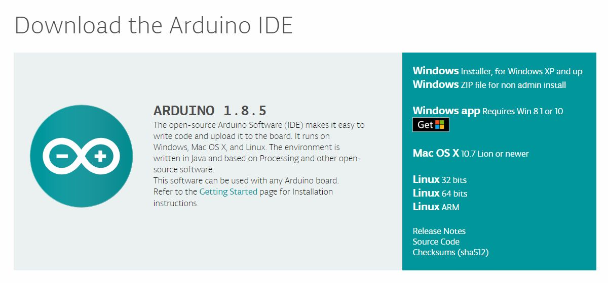 download arduino software for windows 7