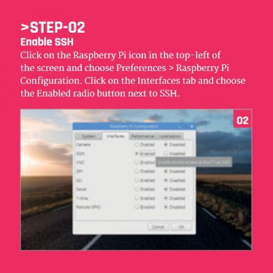 Enable SSH On Your Raspberry Pi