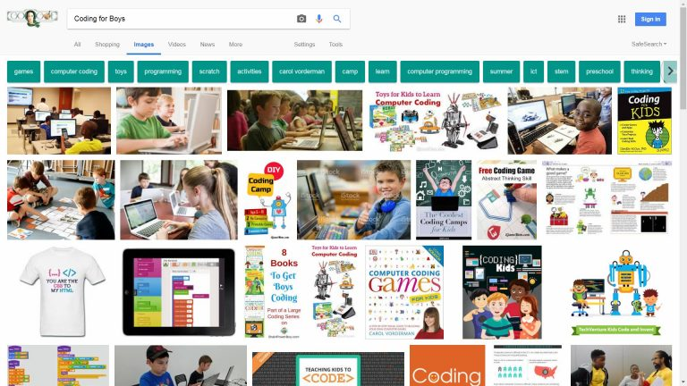 Google Coding for Boys