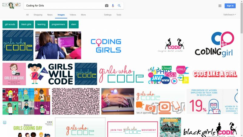 Google Coding for Girls
