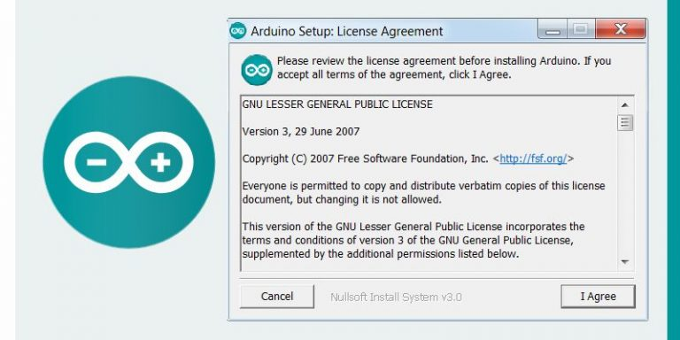 Install the Arduino IDE Software