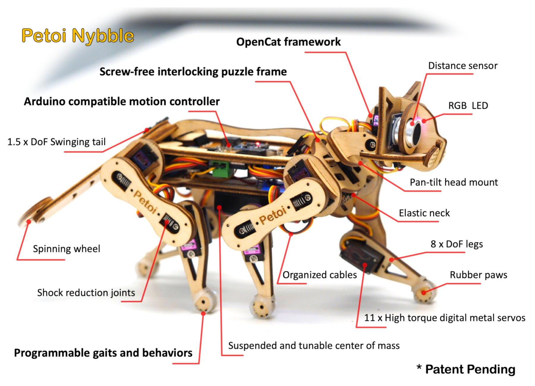 Nybble Cat Robot