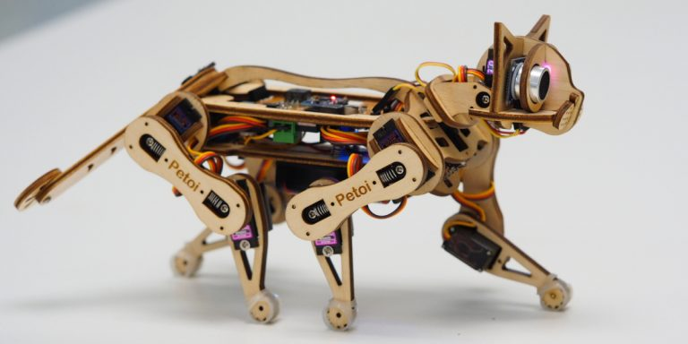 Nybble Walking Cat Robot