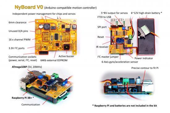 NyBoard V0 Arduino Compatible Motion Controller Board