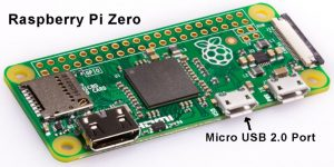 Raspberry Pi Zero Micro USB 2.0 Port