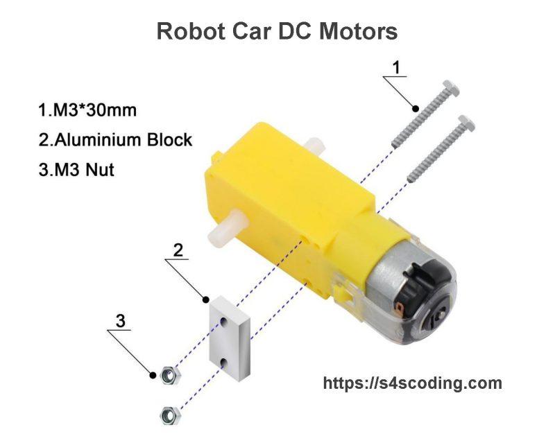 Robot Car DC Motors