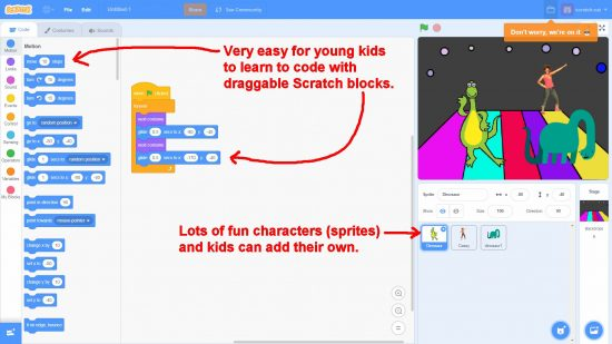 Scratch for Primary Schools